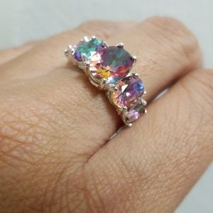 Jewelry - Luxury Rainbow Zircon Ring